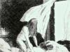 donna-scoperta-omaggio-a-hopper-carboncino-35x50