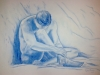 autunno-carboncino-azzurro-35x50